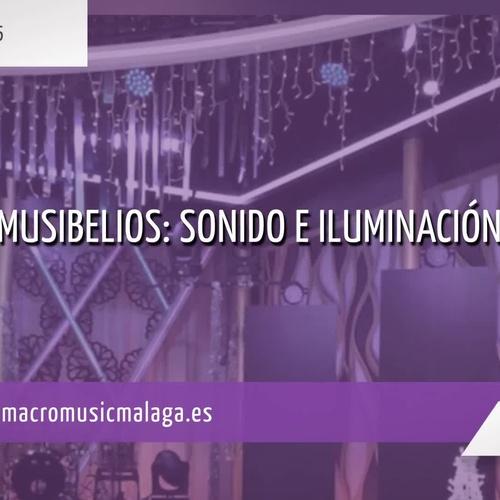 Alquiler de sonido e iluminación en Málaga | Macromusic