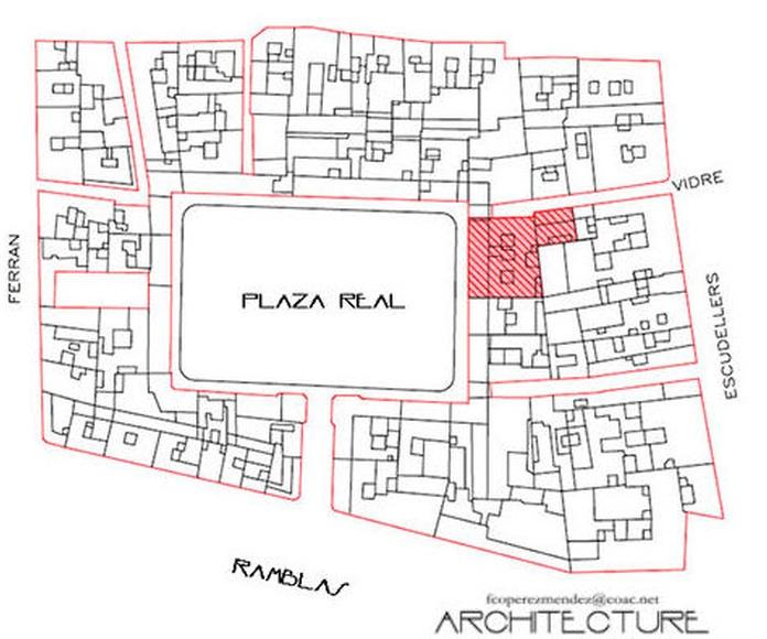 Zona de Intervencion. FPM arquitectura