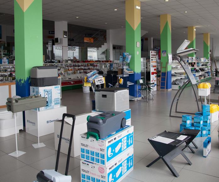 Tienda Accesorios Camping en Asturias