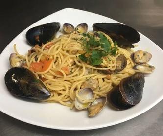 Verduras y ensaladas: Especialidades de Restaurante la Piccola Italia SCQ