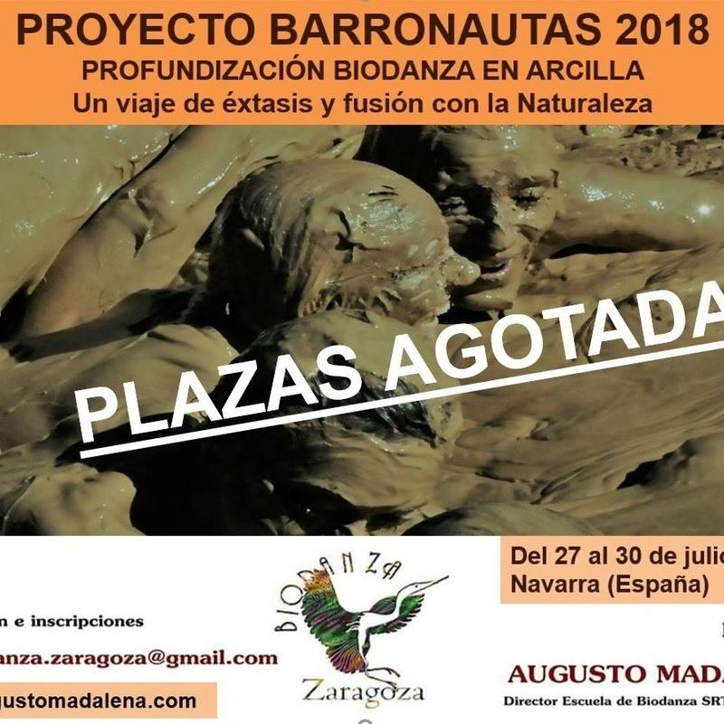 Biodanza en Arcilla 2018. Barronautas. Augusto Madalena.