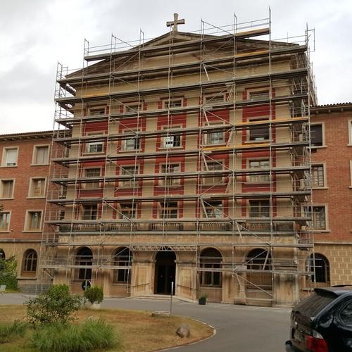 Amplia experiencia en limpieza de fachadas