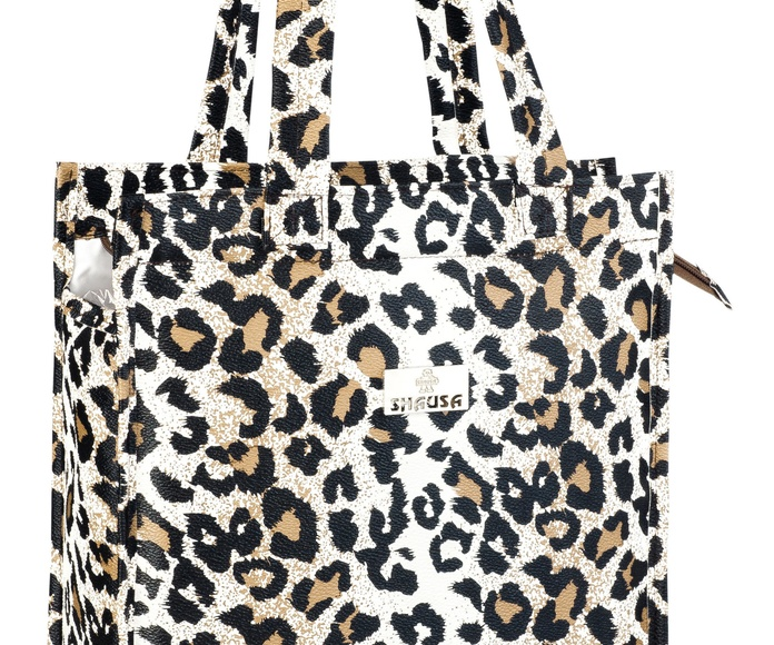 Bolsa shopping animal print