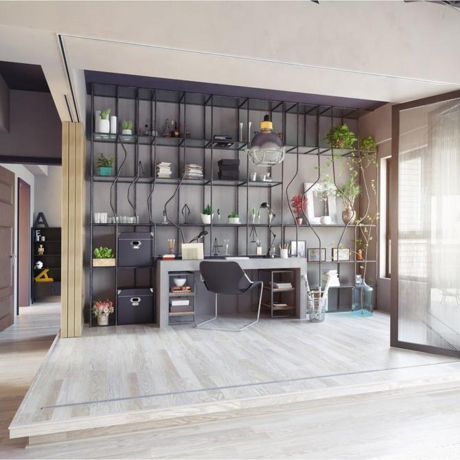 Puertas de hierro para dar un estilo industrial a tu hogar