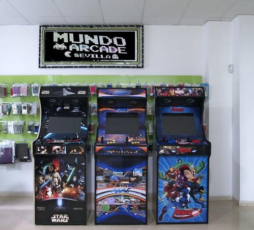 Máquinas Arcade personalizadas