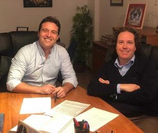 Reunión con nuestro cliente y amigo Jorge Lis Ortega