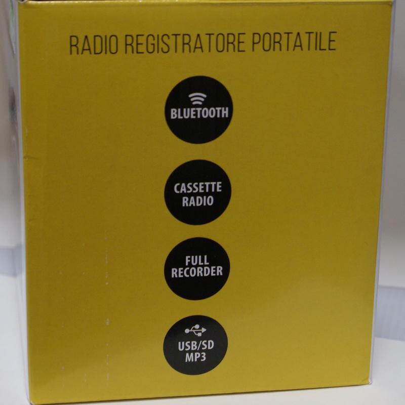 Radio REGISTRATORE PORTATIL RECORDER.: Catalogo de Ocasiones La Moneta
