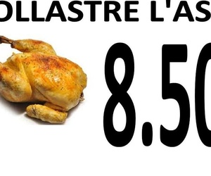 POLLASTRE  A L'AST