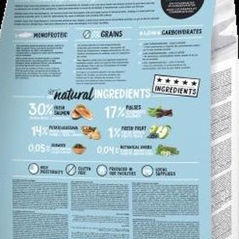 Ownat Grain-Free hypoallergenic salmon: Para tu mascota de New Art Can