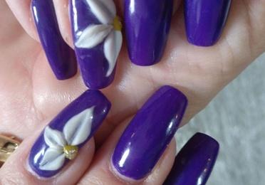 Decoración uñas 3 D