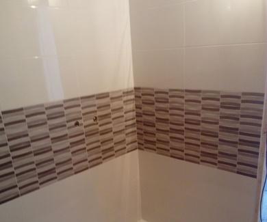 embaldosado nuevo baño