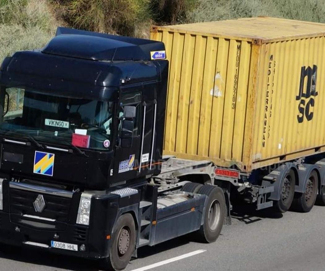 Tipos de camiones de transporte según la mercancía