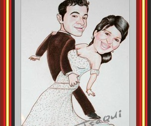 Caricaturas parejas