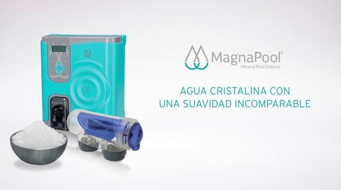 Tratamiento de piscina con magnesio