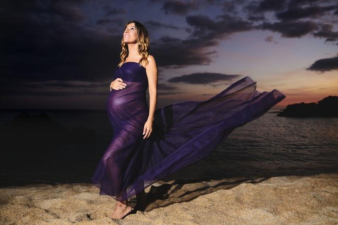 Fotógrafo embarazadas en la playa