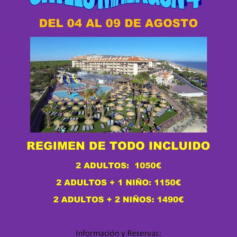 Ohtels Mazagón 4* Agosto: Ofertas de Viajes Global Sur