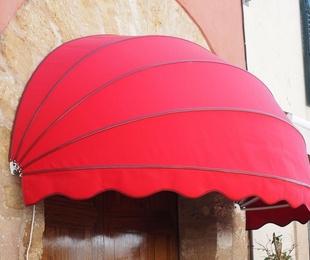 Toldo de punto recto en Salamanca