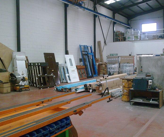 Taller: NUESTROS SERVICIOS de Aluminios Sergio