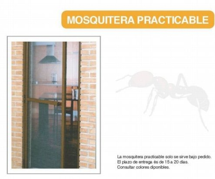 MOSQUITERA PRACTICABLE.