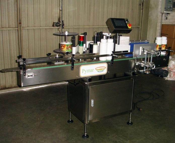 Etiquetadora automática: Catálogo de Maquinaria de Pymar