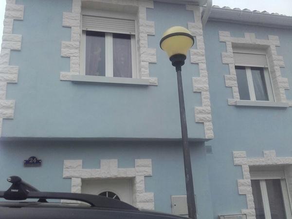 Detalle de pintura exterior,