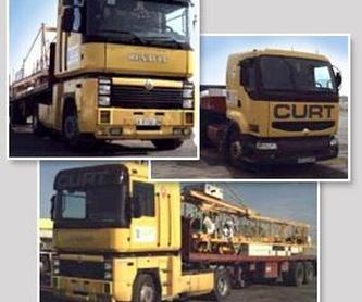 Obra pública: Servicios de Grúas y Transportes Curt