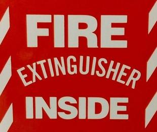 Armarios de extintor