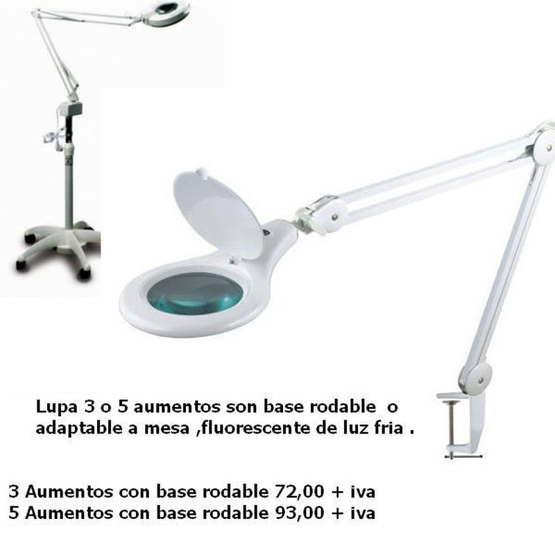 Lampara lupa : Productos de PLUS CLINIC