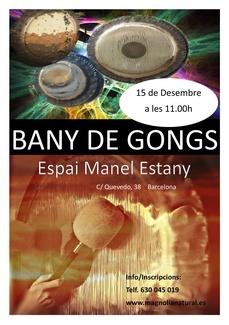 BANY DE GONGS A BARCELONA