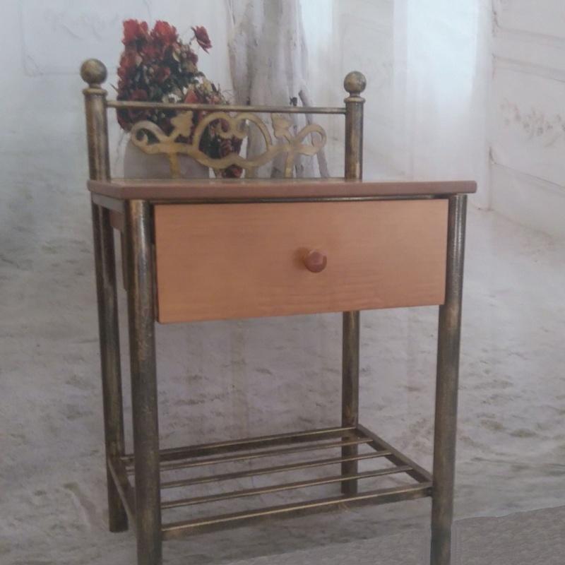 Mesita Granada: Catálogo de muebles de forja de Forja Manuel Jiménez
