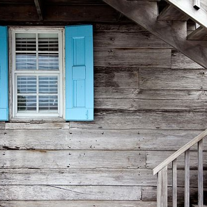 Las ventanas de madera con aluminio son un gran acierto