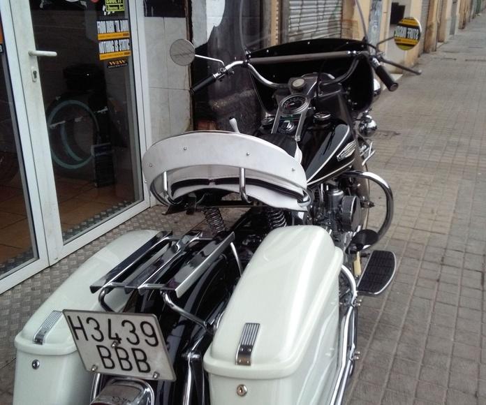 Harley Davidson Valencia, customizacion motos, restauración de Harley Davidson,motos clásicas, Harley Davidson clásicas,