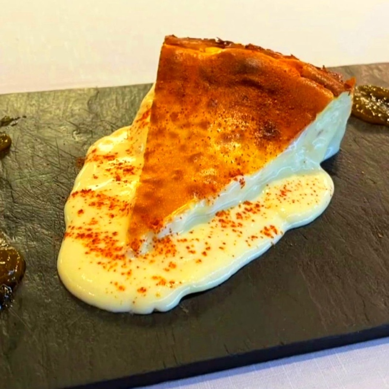 Tarta de queso castelo cremosa