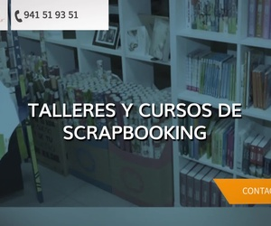 Tienda de scrapbooking en Logroño: Papelería Librería Mina