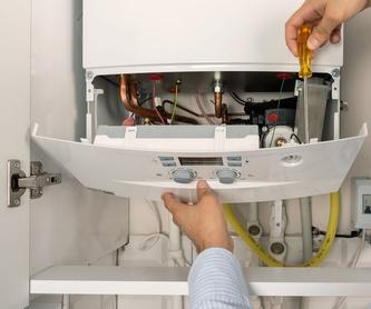 Instalaciones de fontanería y calefacción: Servicios de Fontanería Rey