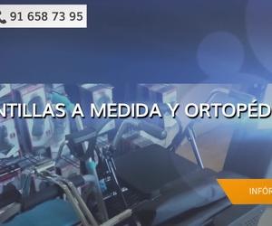 Plantillas ortopédicas en Hortaleza, Madrid | Ortopedia y Bienestar