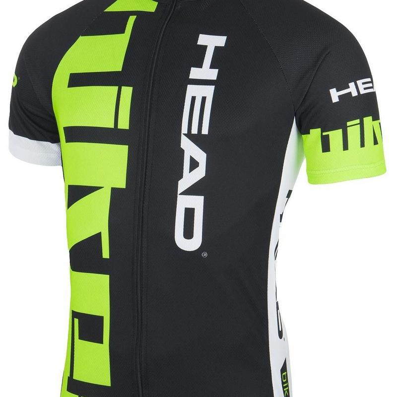 MAILLOT HEAD C102 CLASSIC NEGRO/VERDE: Productos de Bikes Head Store