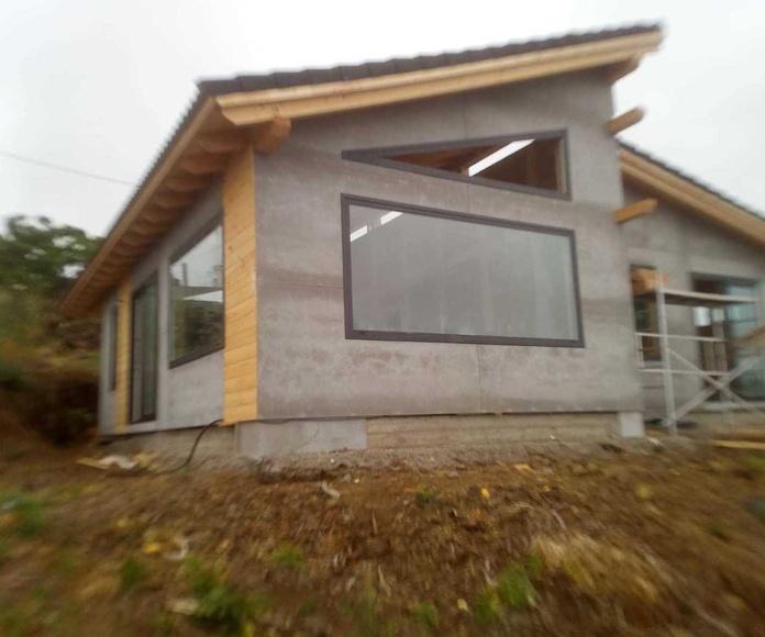 Casa en La Palma con fachada ventilada Viroc