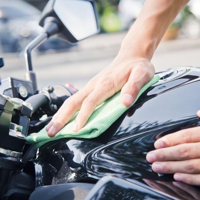 Cómo lavar tu moto