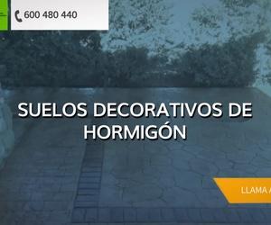 Suelos de hormigón impreso en Toledo | Pavimpresos Talavera