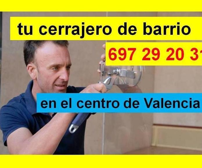 cerrajero en el centro de valencia, cerrajero fichet valencia, cambio de cerraduras fichet valencia