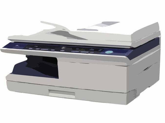 El fax láser