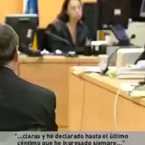 María Luisa Martínez habla sobre las cláusulas suelo para la televisión canaria