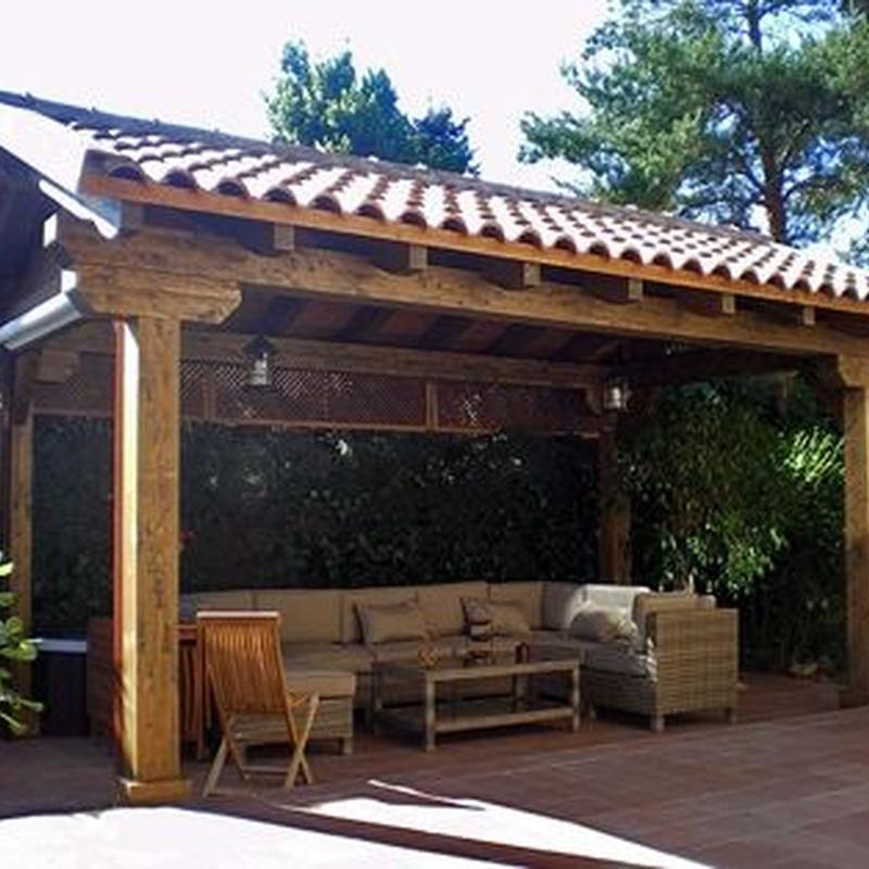 Pérgolas de madera: Servicios de Grupo Lince