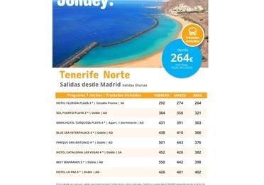 Jolidey: Tenerife Norte