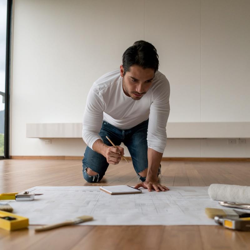 Instalación de parquets: Servicios de Construcciones y Reformas Ruiz