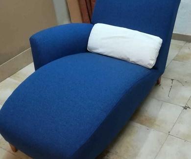 Tapizado sillón de lectura