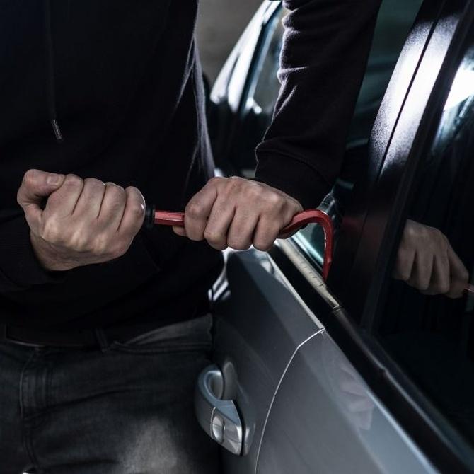 El robo de coches un delito que desciende cada año