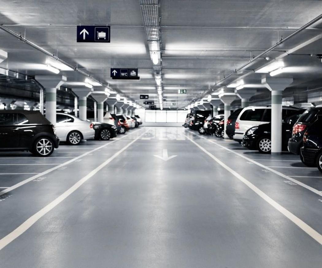 Mantener limpio un parking comunitario