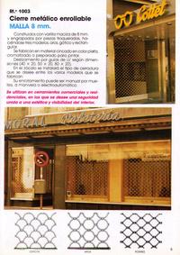 Malla 8 mm: Productos y servicios de Construcciones Metálicas Enrique Barrio, S. L.